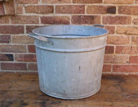 Round Galvanised Tub #7