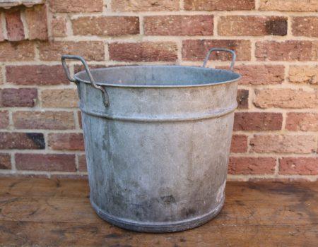 Round Galvanised Tub #13