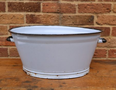 Oval Enamel Tub #4