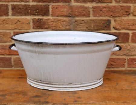 Oval Enamel Tub #7
