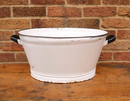 Oval Enamel Tub #9