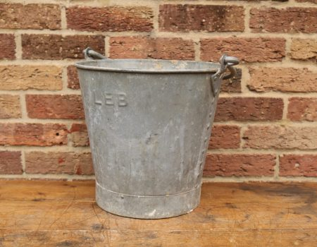 Galvanised Bucket #3