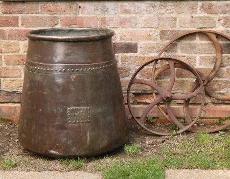 Riveted Copper Tub